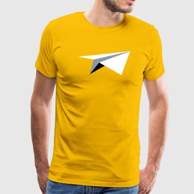 Paper Airplane Paper Airplane - Men's Premium T-Shirt