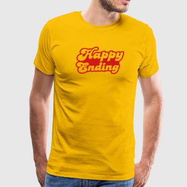 happy ending - Men's Premium T-Shirt