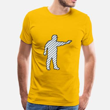 Shoot Targets Shooting pistol targets - Men's Premium T-Shirt