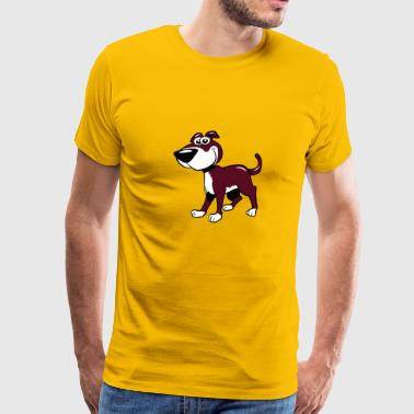 Dog baby funny witty - Men's Premium T-Shirt