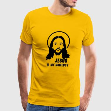Jesus Face - Men's Premium T-Shirt