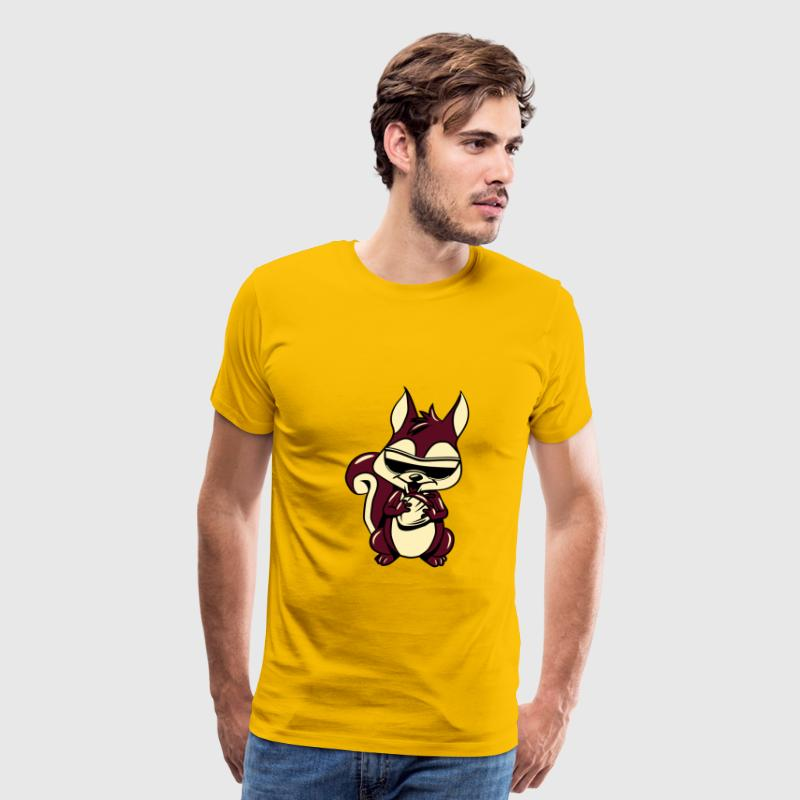 Squirrel fruition sweet - Men's Premium T-Shirt