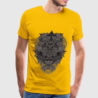 Dragon skull - Men's Premium T-Shirt