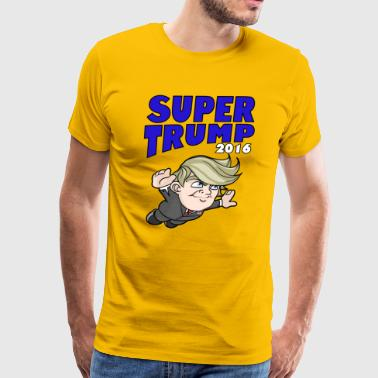 Super Donald Trump 2016 - Men's Premium T-Shirt