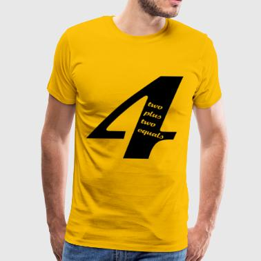 Fours Four - Men's Premium T-Shirt