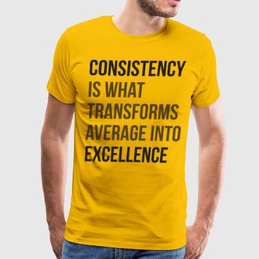 Average to Excellence - Men's Premium T-Shirt