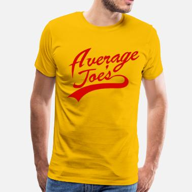 Joe Dodgeball Average Joe's - Men's Premium T-Shirt