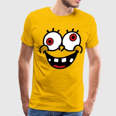 Face Smilie Bob - Men's Premium T-Shirt