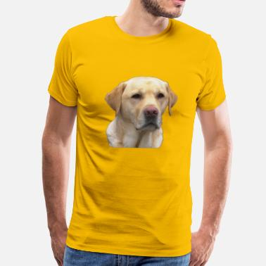 Lab Yellow Lab - Men's Premium T-Shirt