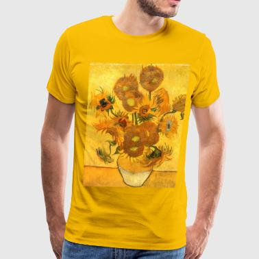 Sunflowers Van Gogh - Men's Premium T-Shirt