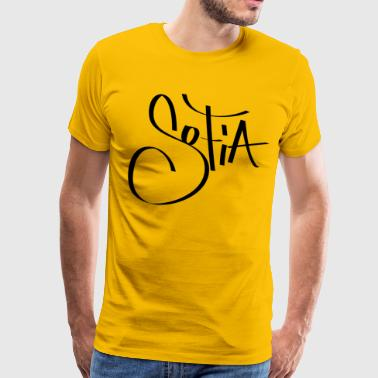 Sofia Graffiti Name - Men's Premium T-Shirt
