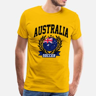 Australia Football Team australia_soccer - Men's Premium T-Shirt
