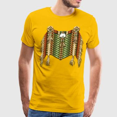 Native Breastplate 10 - Men's Premium T-Shirt