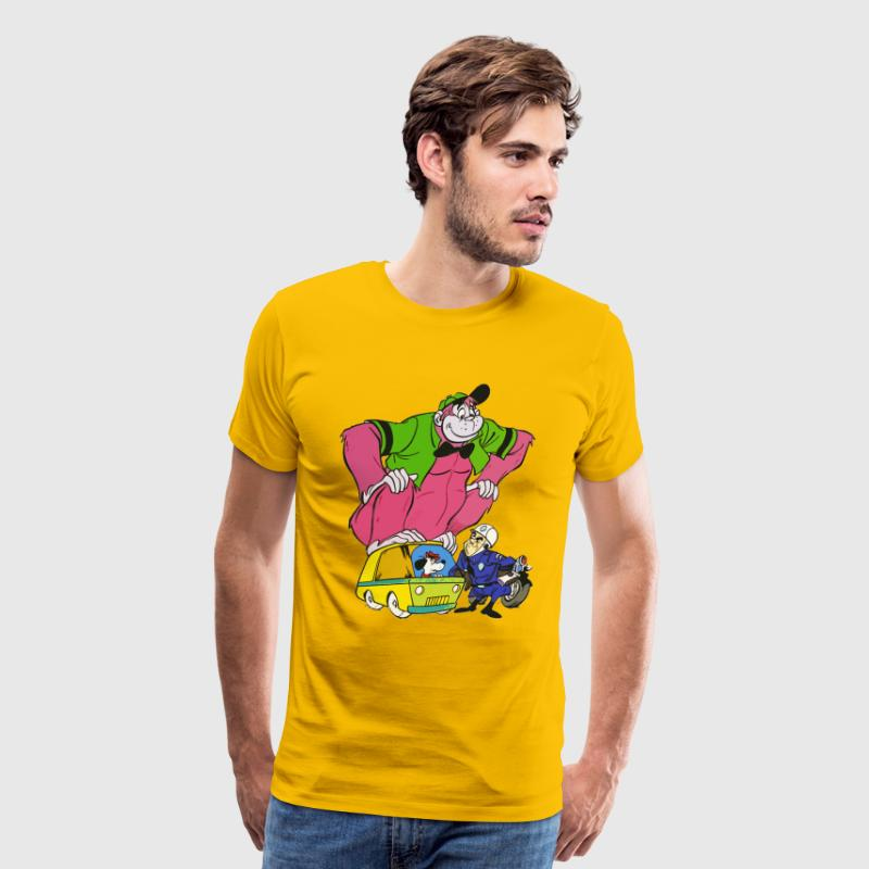 The great grape ape - Men's Premium T-Shirt
