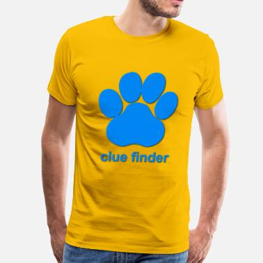 Finder Clue Finder - Men's Premium T-Shirt