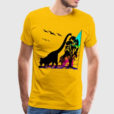 KRONO PHASE KITTY SNACK - Men's Premium T-Shirt