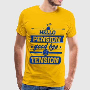 Hello Pension - Men's Premium T-Shirt