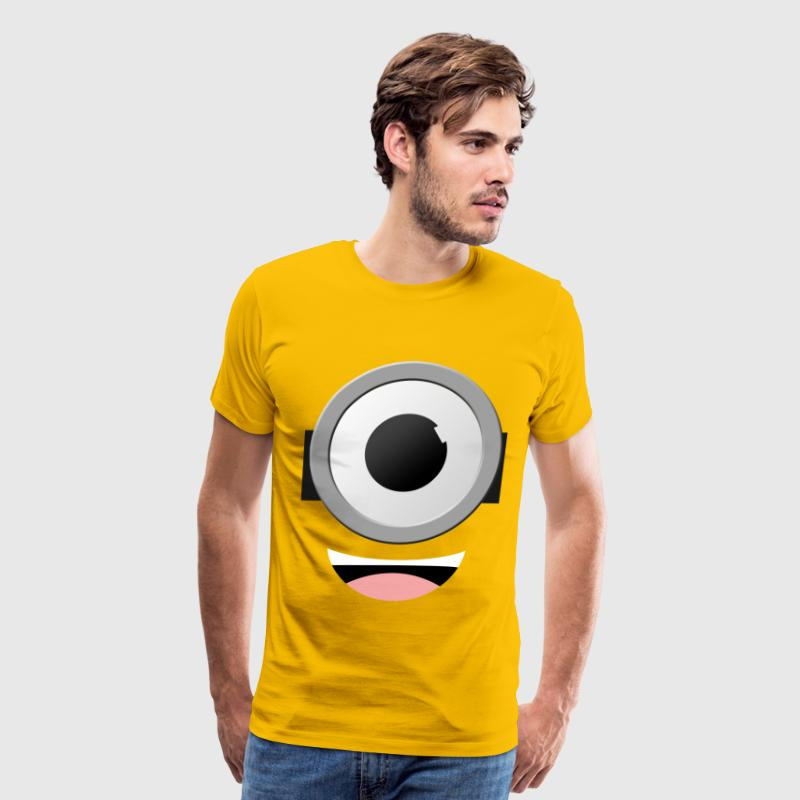 Minion Eyes - Men's Premium T-Shirt