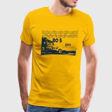 Vintage 1983 80s Car - 80´s Wave - Men's Premium T-Shirt