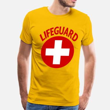 Baywatch LIFEEGUARD - Men's Premium T-Shirt