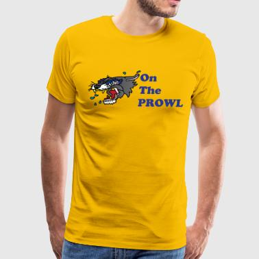 on the prowl - Men's Premium T-Shirt