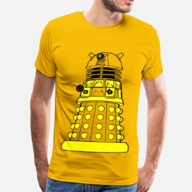 Dalek-shirt Color Your Own Dalek! - Men's Premium T-Shirt