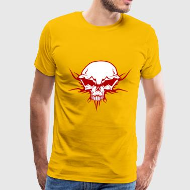 Cranium Bad Skull - Men's Premium T-Shirt