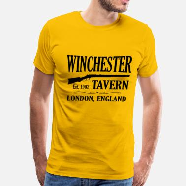 Shawn Of The Dead Winchester Tavern - Men's Premium T-Shirt