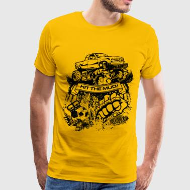 Mudding Truck - Men's Premium T-Shirt
