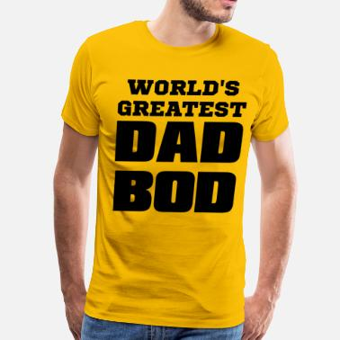 Dad Bod dad bod - Men's Premium T-Shirt