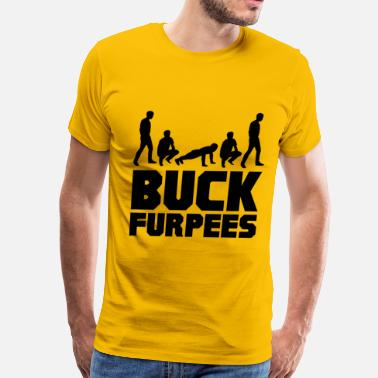 Gym Buck Furpees Burpees Fitness - Men's Premium T-Shirt