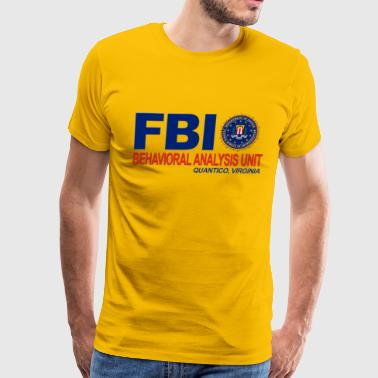 Criminal Minds BAU FBI - Men's Premium T-Shirt