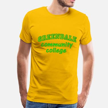 Greendale Greendale Community College - Men's Premium T-Shirt