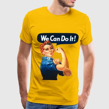 We Can Do It! - Men's Premium T-Shirt