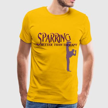 SPARRING (male) - Men's Premium T-Shirt
