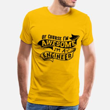 Awesome Engineer Awesome Engineer - Men's Premium T-Shirt