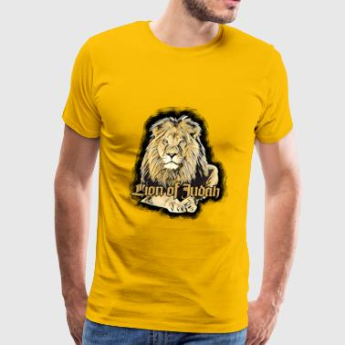 Rastafari Lion of Judah Jah Rastafari Haile Selassie Reggae - Men's Premium T-Shirt