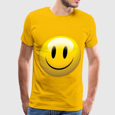yellow smile - Men's Premium T-Shirt