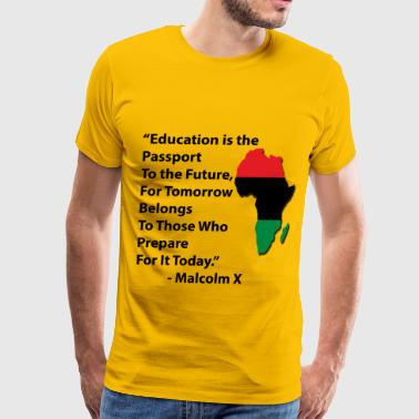 Education Tee with RBG A - Men's Premium T-Shirt