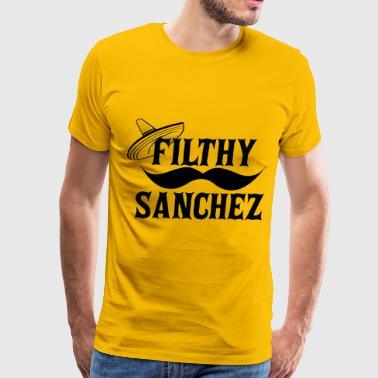 Filthy Sanchez - Men's Premium T-Shirt