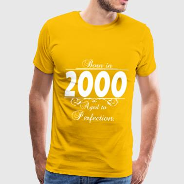Born-in-Age 2000 - Men's Premium T-Shirt