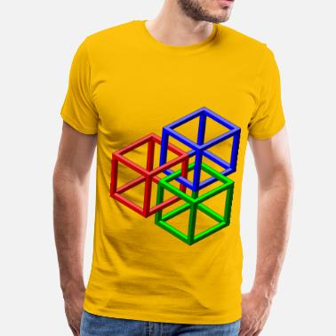 Geometric Shape Geometric Shapes - Men's Premium T-Shirt