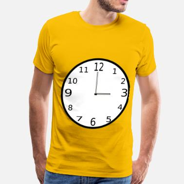 Clocks Clock - Men's Premium T-Shirt