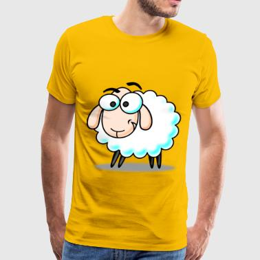 Funny Sheep - Men's Premium T-Shirt