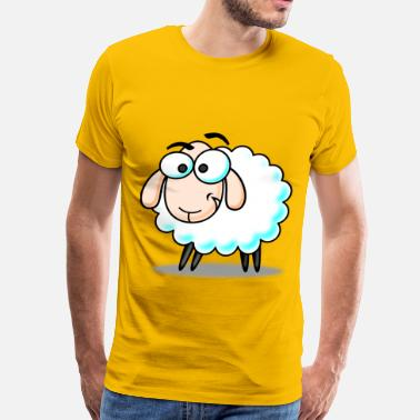 Funny Sheep Funny Sheep - Men's Premium T-Shirt