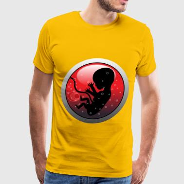 Human Embryo - Men's Premium T-Shirt