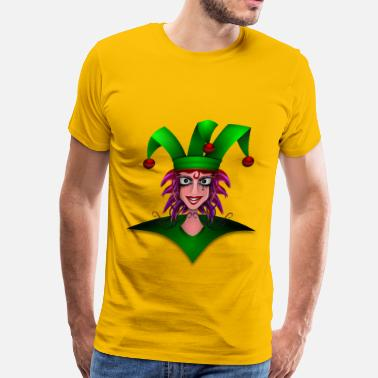 Jester Joker - Men's Premium T-Shirt