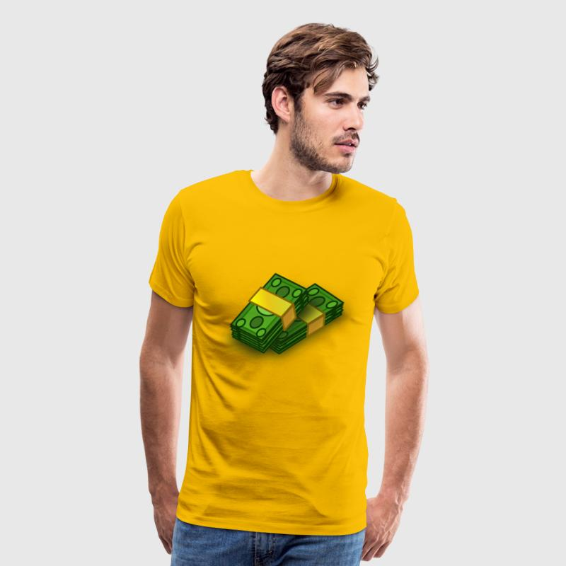Stacks of Money - Men's Premium T-Shirt