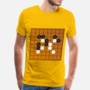 Go Game Go Wei Chi board game - Men's Premium T-Shirt