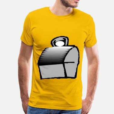 Lunch Box A Traditional Lunch Box - Men's Premium T-Shirt
